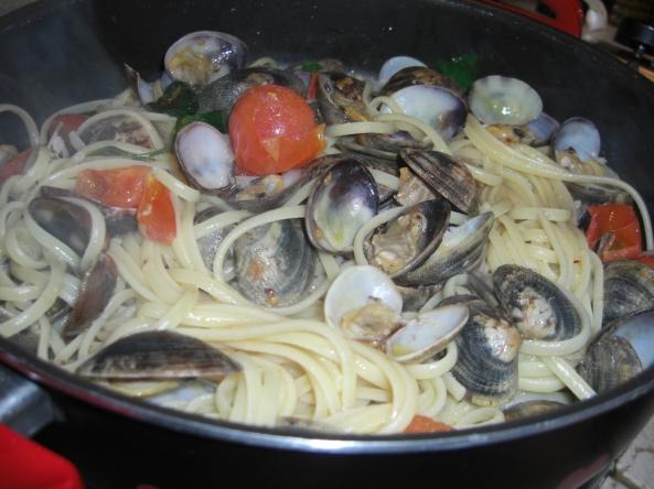 Spaghetto con le vongole