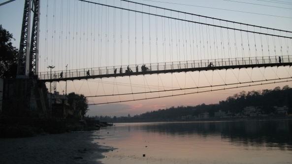 ponte tramonto